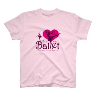 I Love Ballet A T-shirts