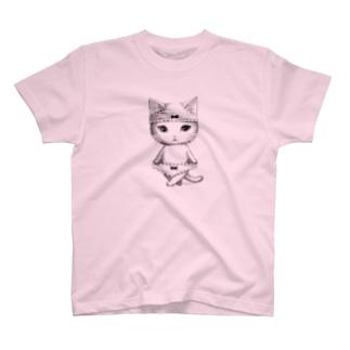 ダブルぱんつ白猫2017 T-shirts