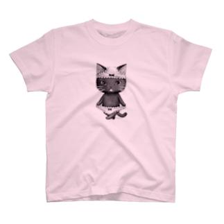 ダブルぱんつ黒2017 T-shirts