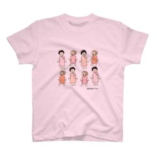 poniponi&QP T-shirts