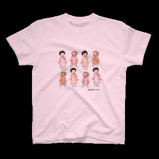 ぽにぽに通信ショップのponiponi&QP T-shirts
