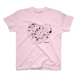 Kayaributa (Pink) T-shirts