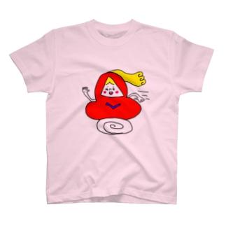 matsunomiの走るだるま T-shirts