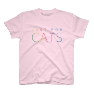 nyanco!のJUST FOR CATS / 4C T-shirts