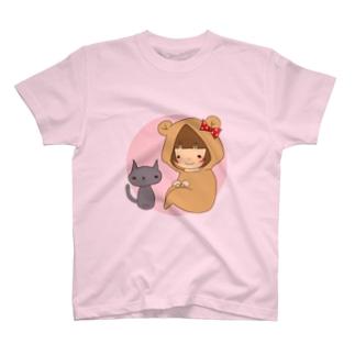 キグルミもこちゃん T-shirts