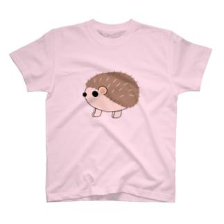 丸っとしたハリネズミ T-Shirt
