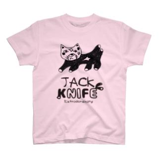 ジャックナイフT T-shirts