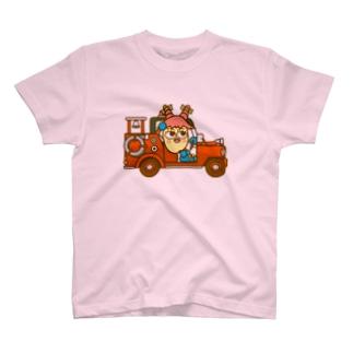 ミルキーさんのポンプ車 T-shirts