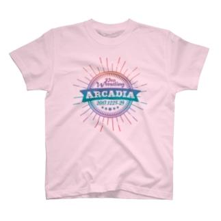 PRO WRESTLING ARCADIA T-shirts