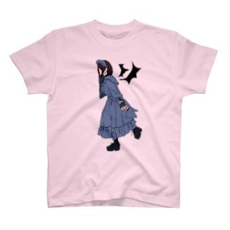ゴスロリ女子/無地【一ノ瀬彩】 T-shirts