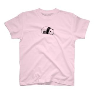 おねむのパンダさん T-shirts