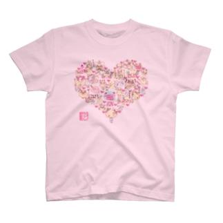 もふっとメリー♪ラブリーTシャツ T-shirts