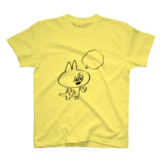 ふきだし(サバの助) Tシャツ