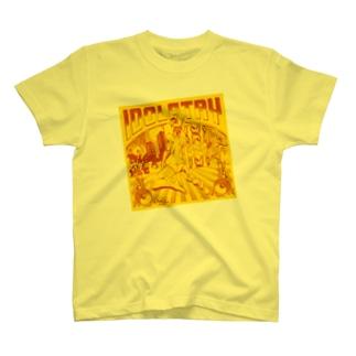 Idolatry イエロー Tシャツ