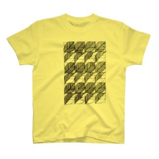 はっぱ(2種) Tシャツ