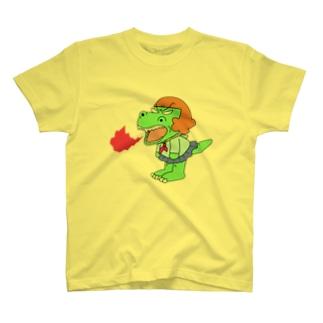 恐竜少女ガウ子 Tシャツ