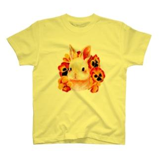 子うさぎのパンサ Tシャツ