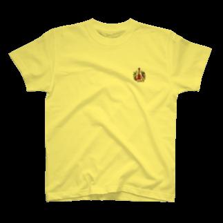 ミカトリエのアコギ(ぶどうまみれ)Tシャツ