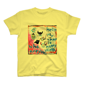 DoiMayumiのPOP ART(HAPPY END)Tシャツ