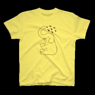 motoko torigoeのゾウ1Tシャツ