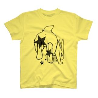 もふもふキック Tシャツ