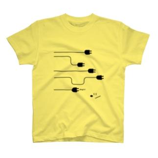 plug in !(No.2) Tシャツ