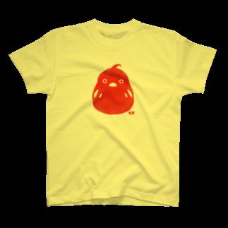 LINOS-Tのとりだるまスタンプ Tシャツ