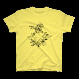 ヤノベケンジアーカイブ&コミュニティのヤノベケンジ《ザ・スター・アンガー》Tシャツ
