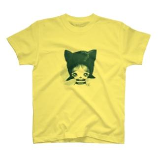 cat boy Tシャツ