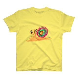 Bugs series -snail- Tシャツ