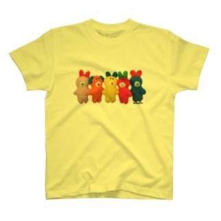ピュンだらけ!カラフル Tシャツ