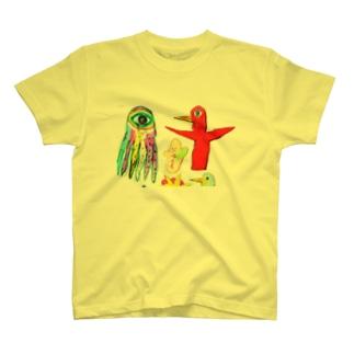 うちゅうの感じ Tシャツ