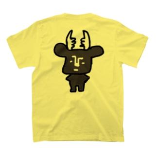 黒BUSHIKA T-shirts