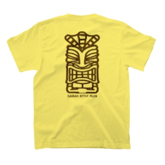 〔Back Print〕 TIKI T-shirts