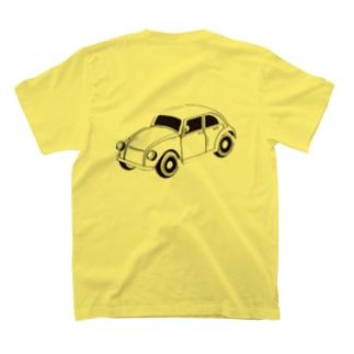 EighTwOne-821-レトロカー T-shirts