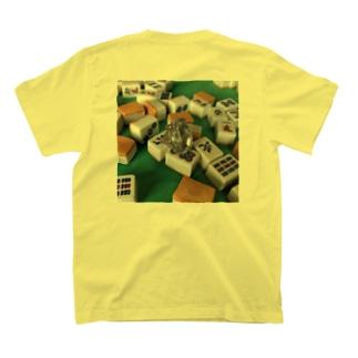ダイヤモンドon the麻雀牌 T-shirts