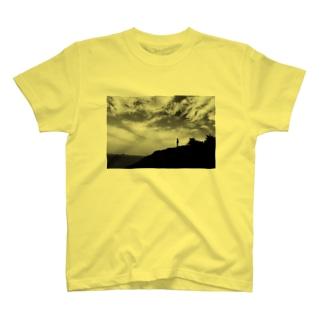 秋の空見上げて T-shirts
