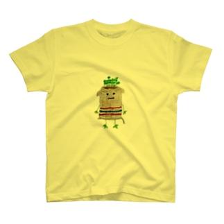 ズタ袋イヌ T-shirts