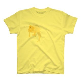 ギタイ_yellow T-shirts