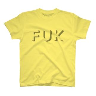 福岡シティTシャツ(シャドウ) T-Shirt