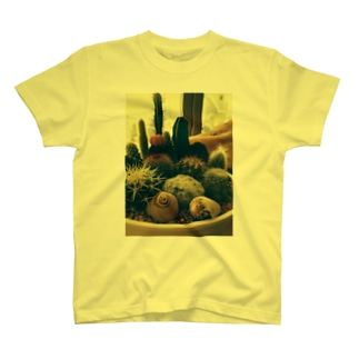 癒しのサボテン T-shirts
