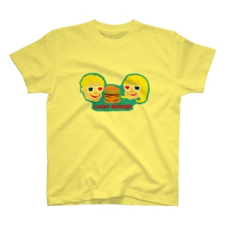 Dream ShakeのLUCKY BURGER T-shirts