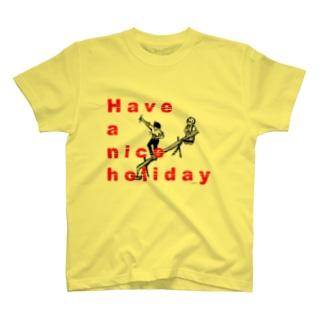 よい休日を T-shirts