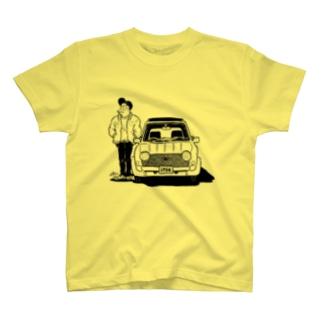 ナルシストとくるま T-shirts