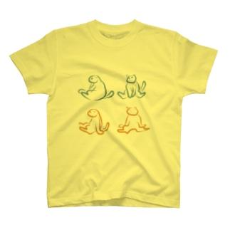スコ座り図説 T-shirts