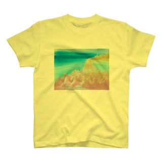 ウナーゴン20億3千万販売所の異界の海 T-shirts