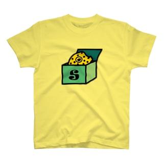 hitohana 箱入りハコフグ T-shirts