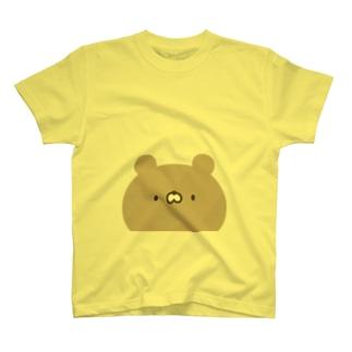 かわいいクマさん顔 T-shirts