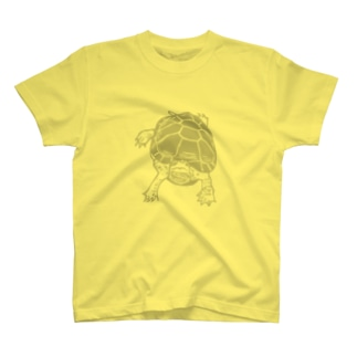 クサガメ Smiley Boggie (GY) T-shirts