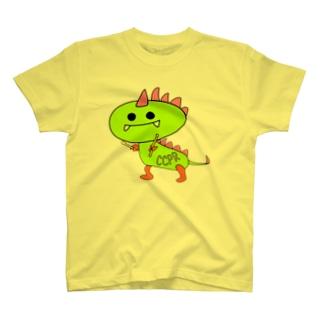 CocopariのパリゴンTシャツ(全23色) T-shirts